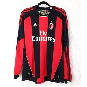 a5f4ee2a13d adidas Shirts - AC MILAN Adidas Long Sleeve Fly Emirates Jersey